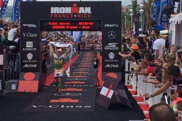 Victor Del Corral remporte l'Ironman France Nice 2016