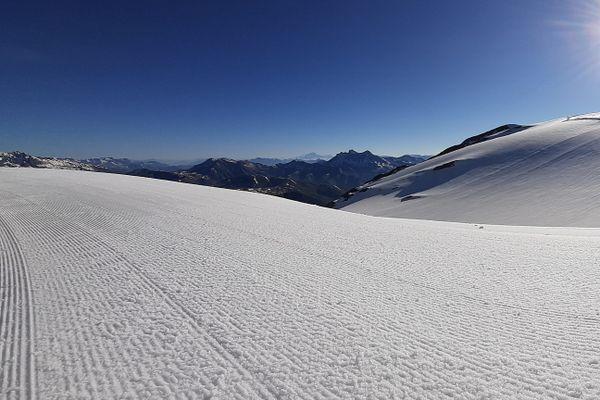 Le glacier des deux Alpes.
