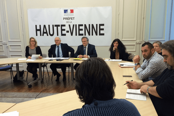 Des représentants des salariés de GM&S Industry reçus à la préfecture de Limoges