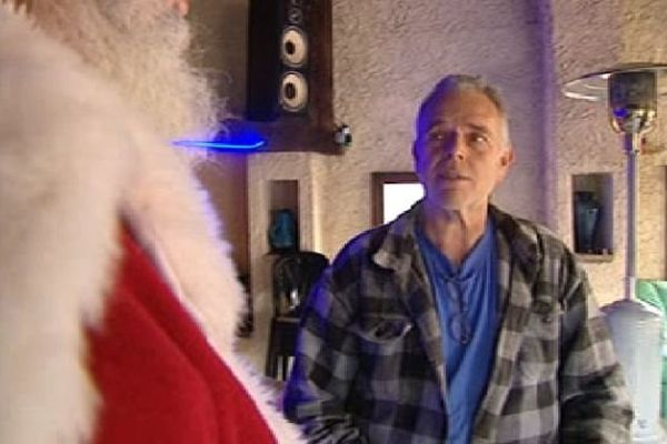 Le pisciculteur héraultais a demandé un coup de pouce au père Noël pour organiser un réveillon solidaire.