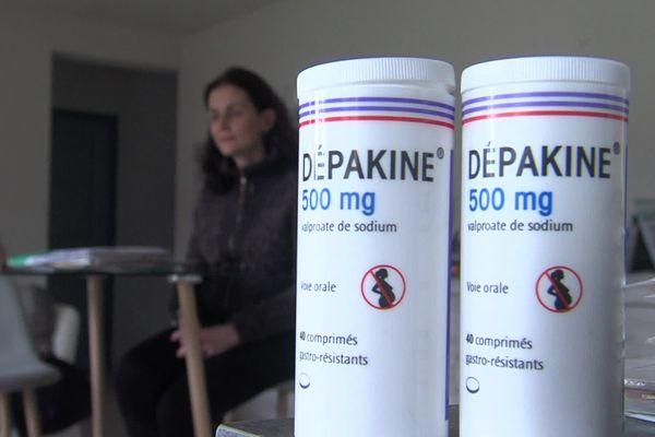 Corinne Salmagne prend de la Dépakine depuis l'âge de 3 ans pour soigner des troubles épileptiques.