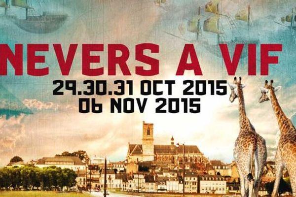 Le festival Nevers à vif, dans la Nièvre, propose quatre jours de musiques actuelles les 29/30/31 octobre et 6 novembre 2015.