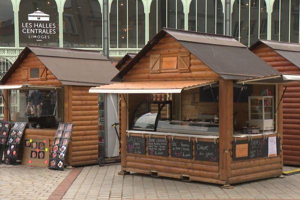 Le village des restaurateurs place de la Motte à Limoges