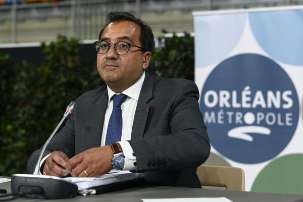 Christophe Chaillou est le nouveau président d'Orléans Métropole.