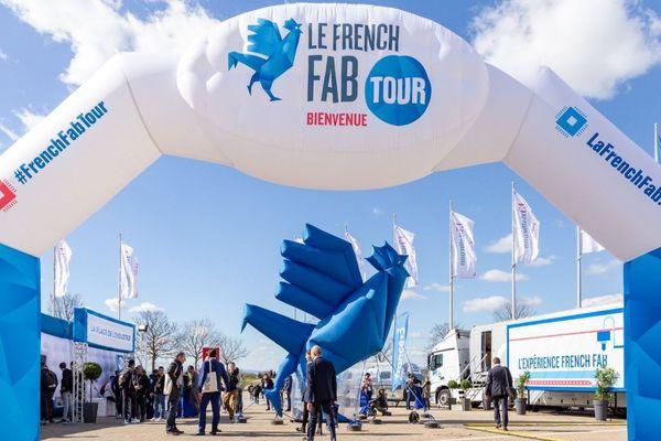 Le village de la French Fab Tour