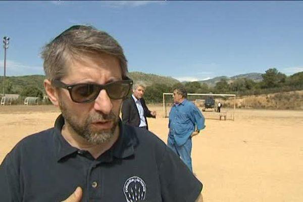 03/09/15 - Visite d'Haïm Korsia, grand rabbin de France en Corse