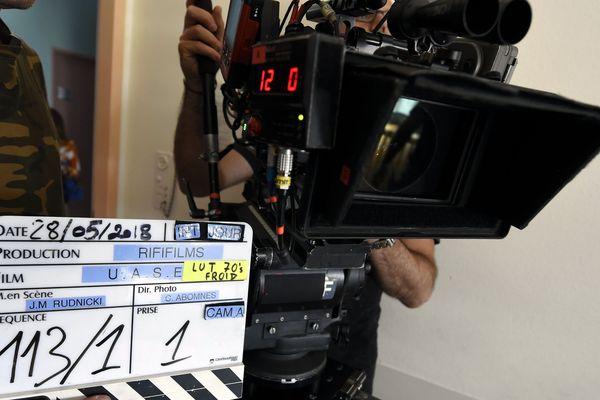 Un tournage à Sélestat (Bas-Rhin), en 2018.
