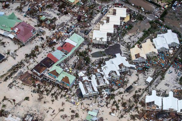 L'Ouragan Irma a ravagé les Antilles et l'île de Saint-Martin