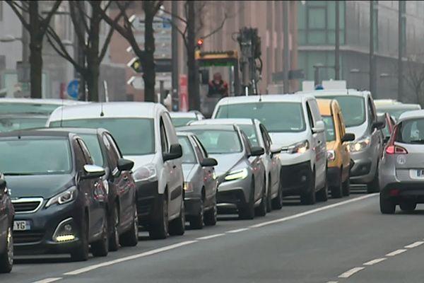 Lyon se situe à un point près dans la moyenne mondiale, qui est de 29 % de congestion de la circulation