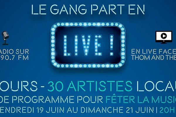 Le Gang part en live ! © RCN pour France Télévisions