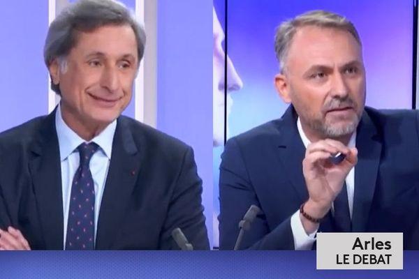Municipales 2020 : Arles, le débat du second tour en duel.