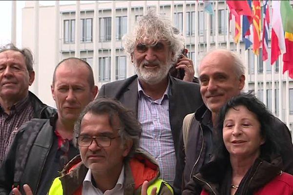 """Les représentants de la CGT-Ford comptent bien """"utiliser tous les outils"""" en leur possession pour sauver l'usine Ford de Blanquefort. C'est la raison pour laquelle ils se sont rendus ce 20 mai à Strasbourg au Conseil de l'Europe."""