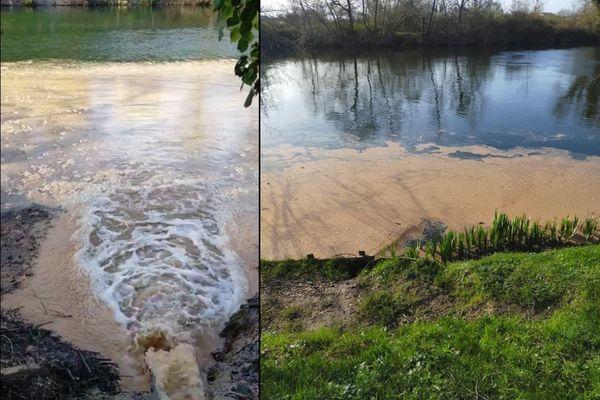 Les images prises par cet internaute sont effarantes : les eaux usées se déversent directement dans l'une des rivières les plus propres de Dordogne