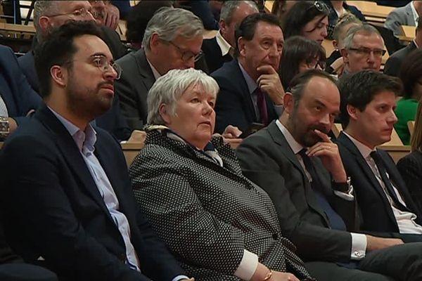 Le premier ministre, Edouard Philippe, est venu dans le Gers accompagné de quatre de ses ministres