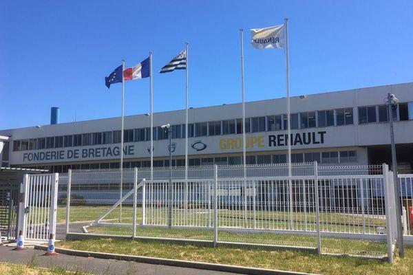 Le site de la Fonderie de Bretagne à Caudan compte 350 salariés