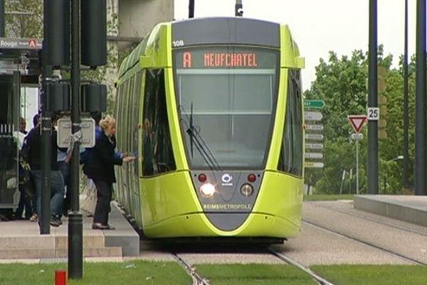 Le trafic des bus et du tram perturbé sur le réseau Citura de Reims.