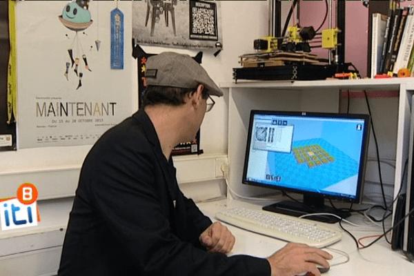 Fabriquer un vélo, un jeu de société ou même sa prothèse de bras : tout est possible au LabFab de Rennes.
