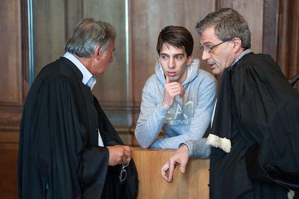 Yacine Sid et ses avocats Maître Uzan et Dreyfus-Schmidt