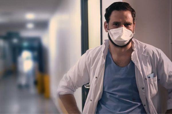 Le Dr Carvelli, médecin réanimateur à l'hôpital de la Timone, témoigne de son quotidien sur fond d'épidémie de Covid