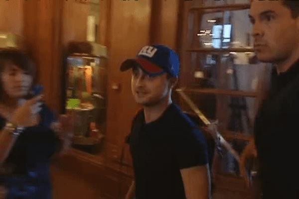 Daniel Radcliffe est arrivé à Deauville ce vendredi après-midi