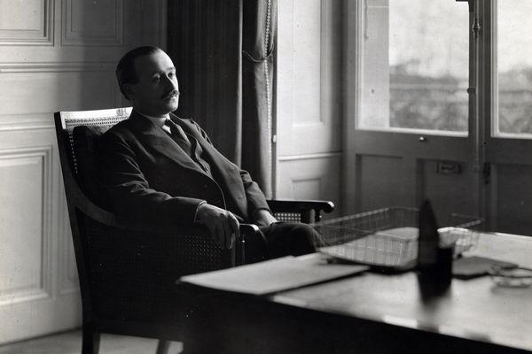 Jean Monnet à Genève en 1921