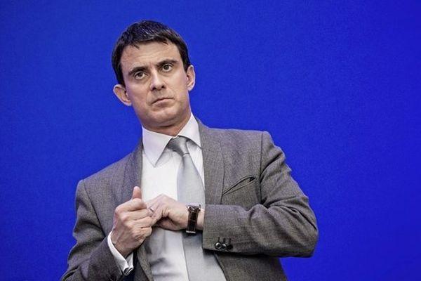 Manuel Valls, ministre de l'intérieur, le 20 janvier 2014.
