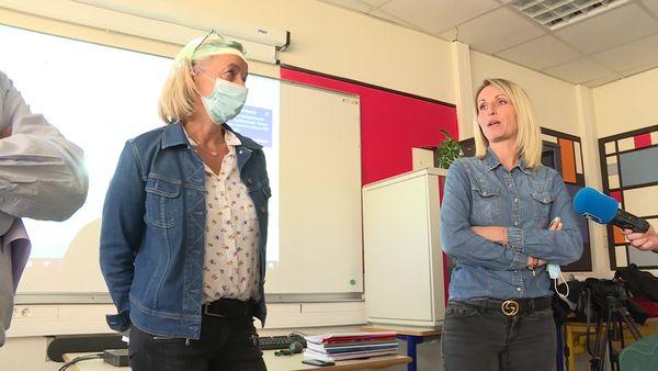 Alexandra Gauthier et Audrey Pieri ont partagé leur expérience professionnelle avec les élèves.