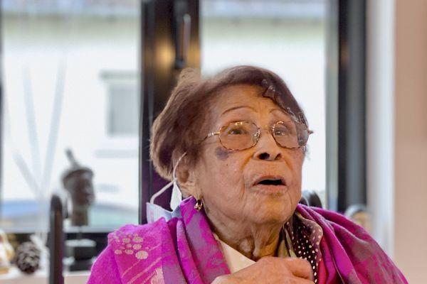 Irène Castera, ses 111 ans, est la doyenne d'Alsace