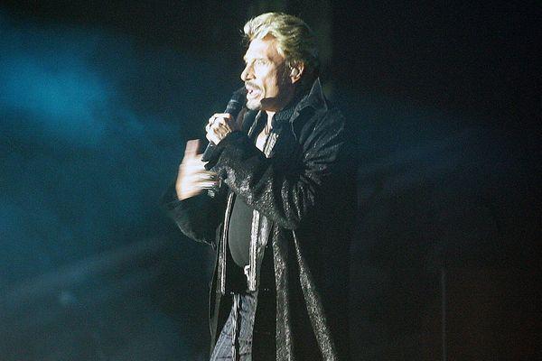 Johnny en concert en juillet 2006