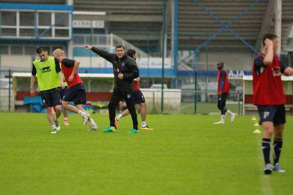 Viorel Moldovan, l'entraîneur de l'AJ Auxerre