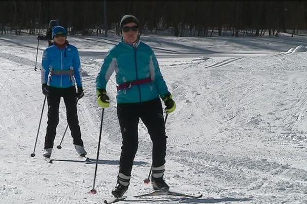 Les skieurs ont pu profiter de plus de 40 kilomètres de pistes sur le domaine nordique de Gap-Bayard.