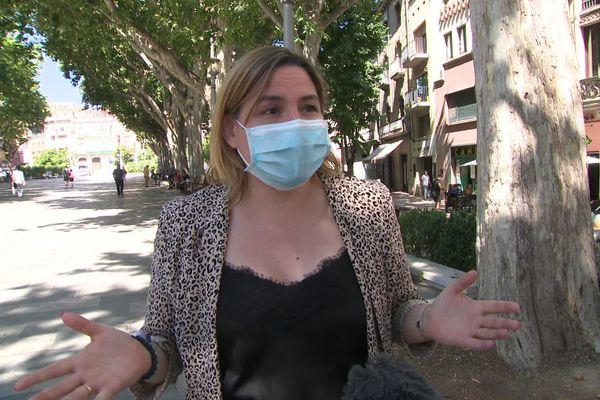 """La Maire de Figuères rappelle que """"la lutte contre le virus dépend de chacun de nous""""."""