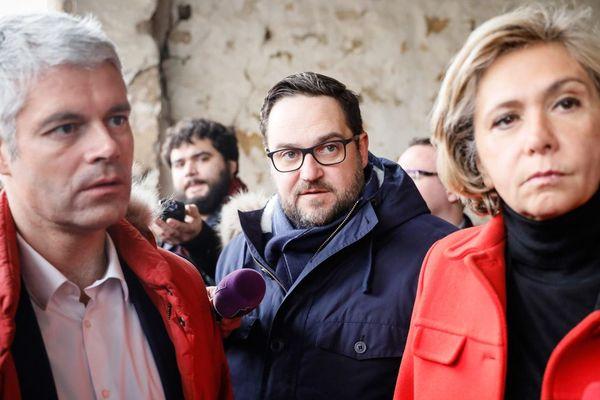 Laurent Wauquiez et Valérie Pécresse étaient venus en milieu de semaine afficher leur soutien à Antoine Savignat