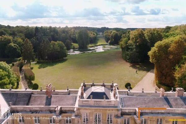 Le parc du château de Versigny