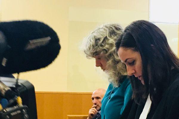 Les avocats de la LPO au procès du bateau pollueur à Marseille.