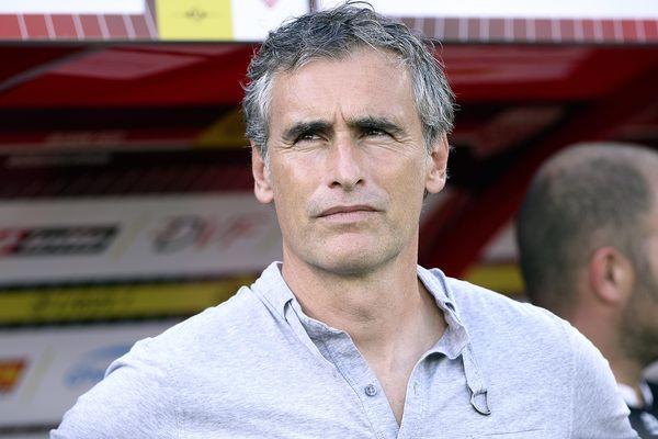 L'entraîneur du DFCO, Olivier Dall'Oglio - Image MaxPPP de Stephane Guiochon