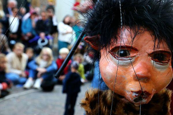 Chaque année, le festival mondial des théâtres de marionnettes anime les rues de Charleville-Mézières.