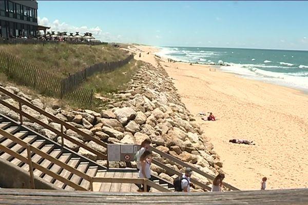 La plage de Lacanau toujours prisée