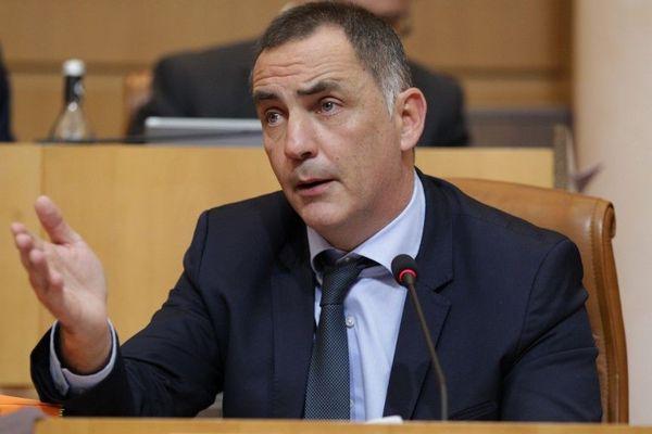 ILLUSTRATION - Gilles Simeoni, président du conseil exécutif de Corse.