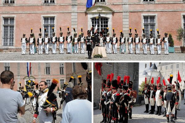 Le temps d'un week-end, le château de Meung-sur-Loire revit à l'heure napoléonienne.