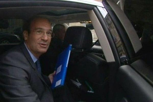 Eric Woerth député-maire UMP de Chantilly