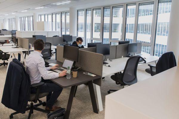 8 télétravailleurs sur 10 ne sont pas prêts à retourner à plein temps dans leur entreprise dont les bureaux sont actuellement encore peu occupés