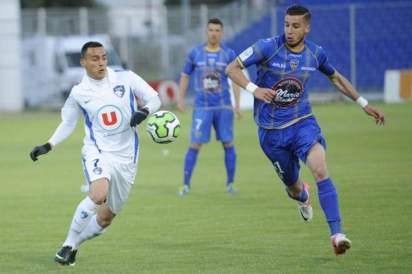 Les Havrais sont fait match nul face à Arles vendredi 24 mai.