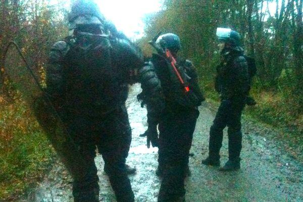 Les gendarmes se préparent
