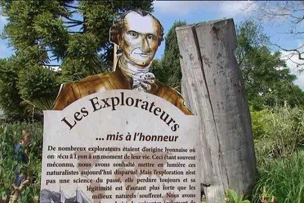 """"""" Les explorateurs, une piste à suivre ..."""" jusqu'au 26 octobre 2014."""
