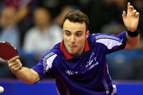 Simon Gauzy, 18ème joueur mondial.