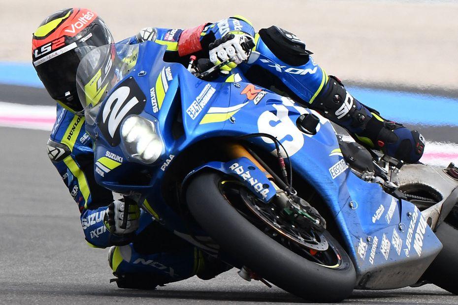 Le pilote charentais Gregg Black sacré champion du monde d'endurance moto