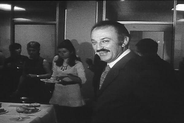 Jacques Médecin à ses débuts en politique.