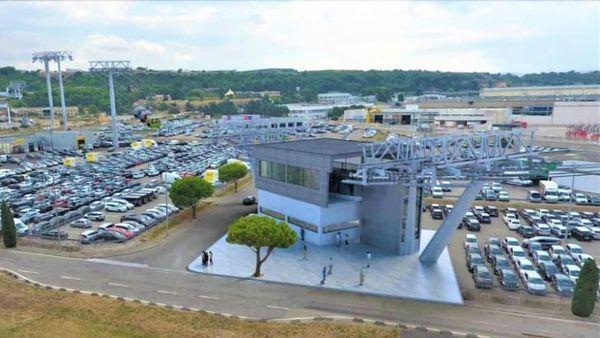 Image du projet de téléphérique entre la gare de Vitrolles et l'aéroport Marseille-Provence