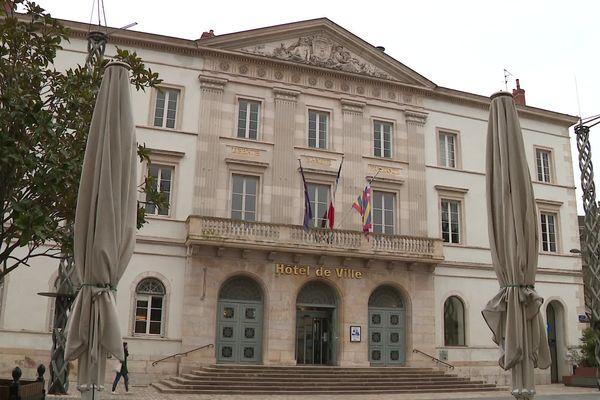 La mairie de Chalon-sur-Saône, le 22 février 2021.
